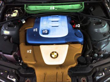как да сменим двигателното масло на bmw 320d