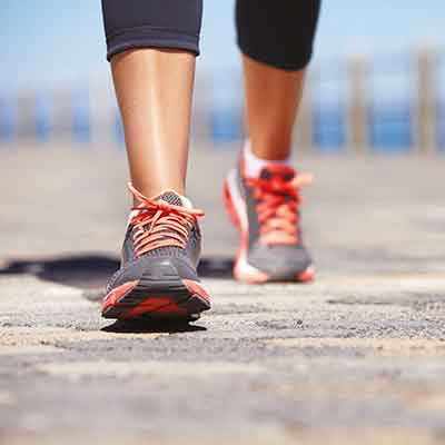 отслабване с ходене