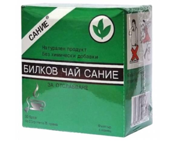 Ефикасен чай за отслабване